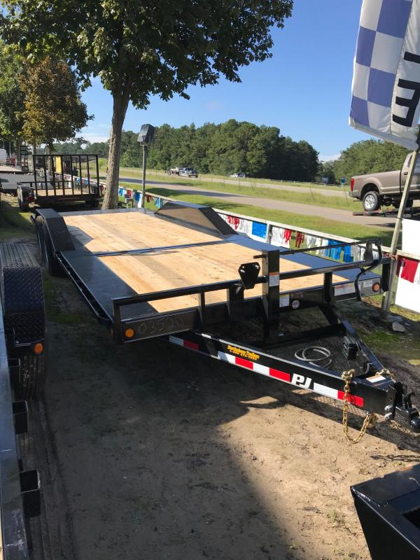 2019 8.5x24  PJ Trailers Tilt Equipment Trailer