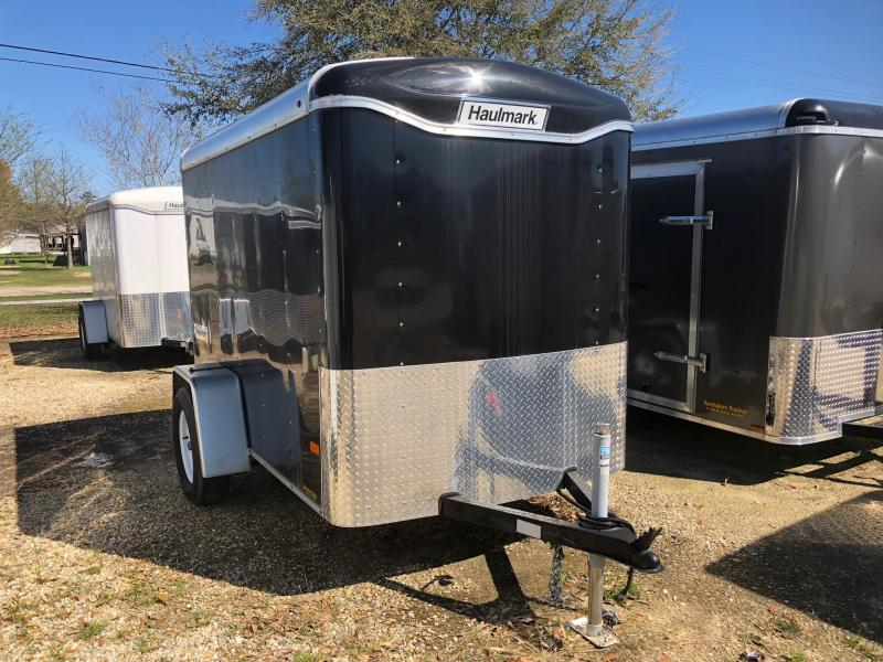 2016 5x8 Haulmark Transport Enclosed Cargo Trailer