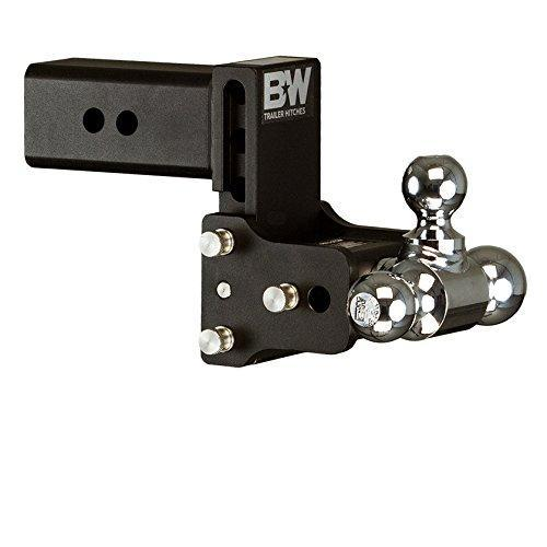 "B&W TS30048B Tow and Stow Model 8 Tri-Ball Hitch 1 7/8"" x 2"" x 2 5/16"" for 3"" Receivers"