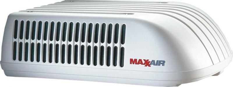 MaxxAir TuffMaxx A/C Shroud  Polar White
