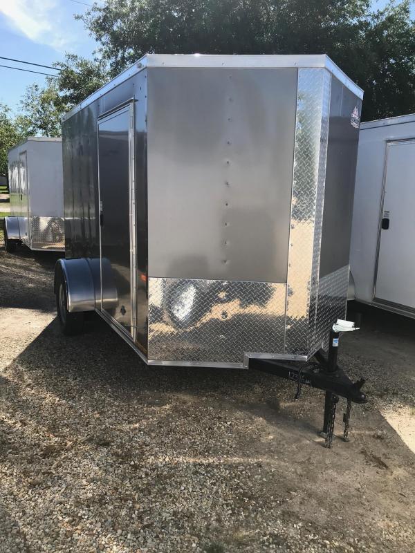 2019 Rock Solid Cargo SA VN Enclosed Cargo Trailer