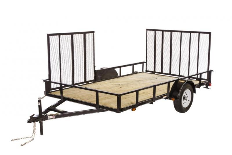 2019 6.4x10 Pipe Top Utility Trailer
