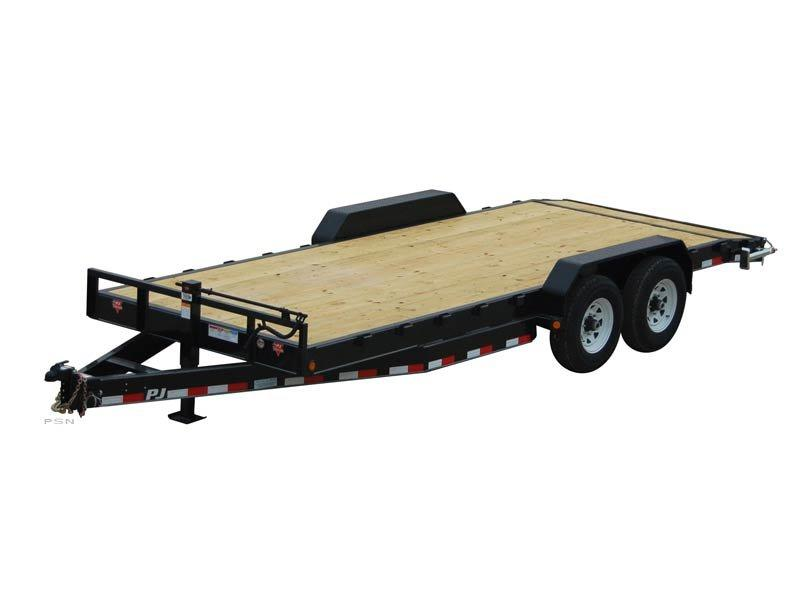 2020 6.10x20 PJ Trailers 8 in. Channel Carhauler (C8) Car / Racing Trailer