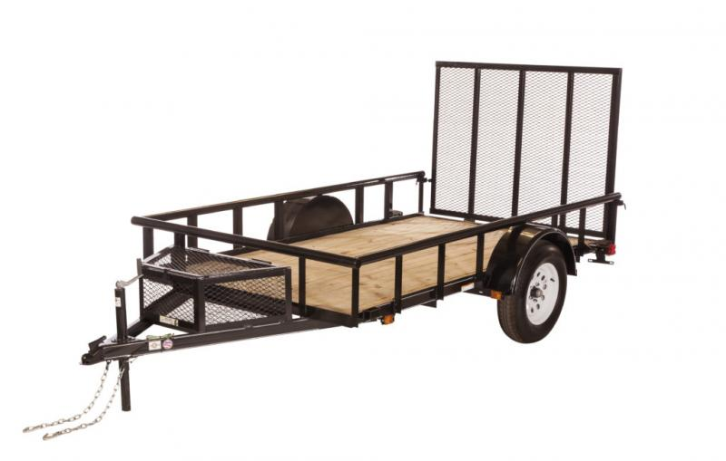 2019 Carry-On 5.5X10GWPTLED Utility Trailer