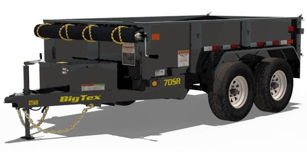2019 5x10 Big Tex Trailers 70SR-10-5W Dump Trailer
