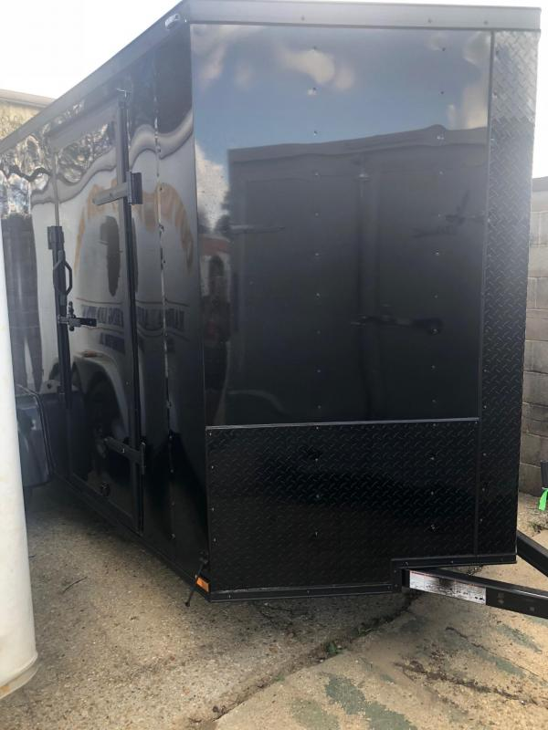 2019 Lark 6x12 SA Enclosed Cargo Trailer