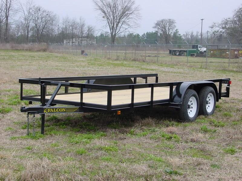 2019 Falcon 16x6.10 SD Utility Trailer