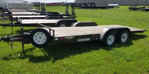 2006 H and H 18' Speedloader MX Tilt Car / Racing Trailer