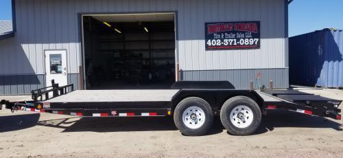 2019 PJ Trailers 20' x 6 in. Channel Equipment (CC) Car / Racing Trailer