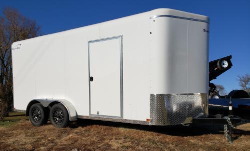 2019 Sharp Model 7' x 16' Enclosed Cargo Trailer