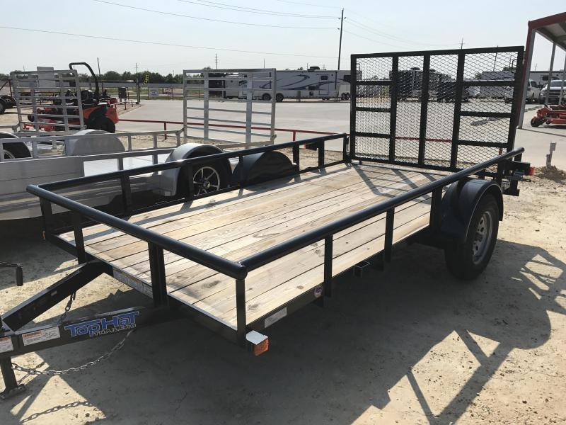 2018 Top Hat Trailers DSP12X6.5-2.9N-C Utility Trailer