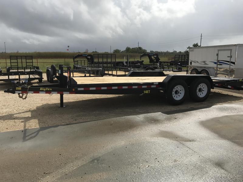 2018 Big Tex Trailers 14ET-20BK-MR Equipment Trailer