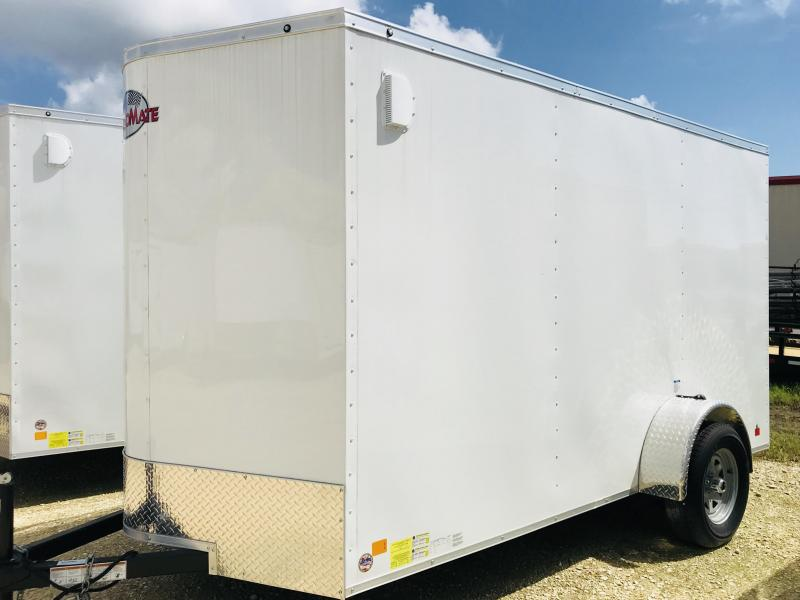 2018 Cargo Mate TXLEEH612SA Enclosed Cargo Trailer