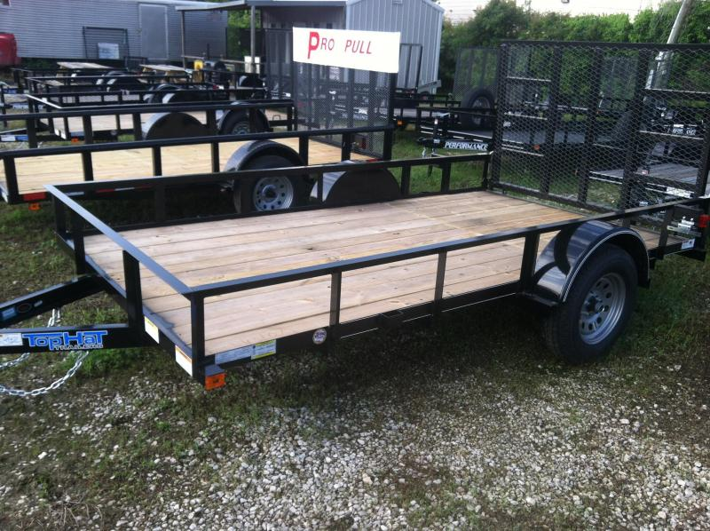 2017 Top Hat Trailers DSA6.5x12 Utility Trailer