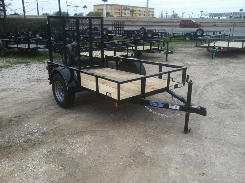 2017 Top Hat Trailers 5x8 Utility Trailer