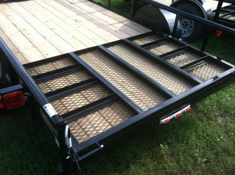 2017 Top Hat Trailers DSA6.5x14 Utility Trailer