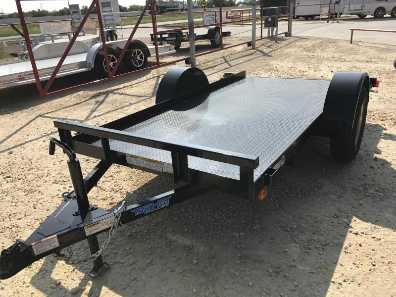 2018 Top Hat Trailers WM10X5-2.9N-C Utility Trailer