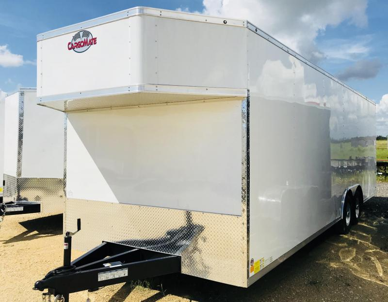 2018 Cargo Mate TXEHW8.524TA3 Enclosed Cargo Trailer