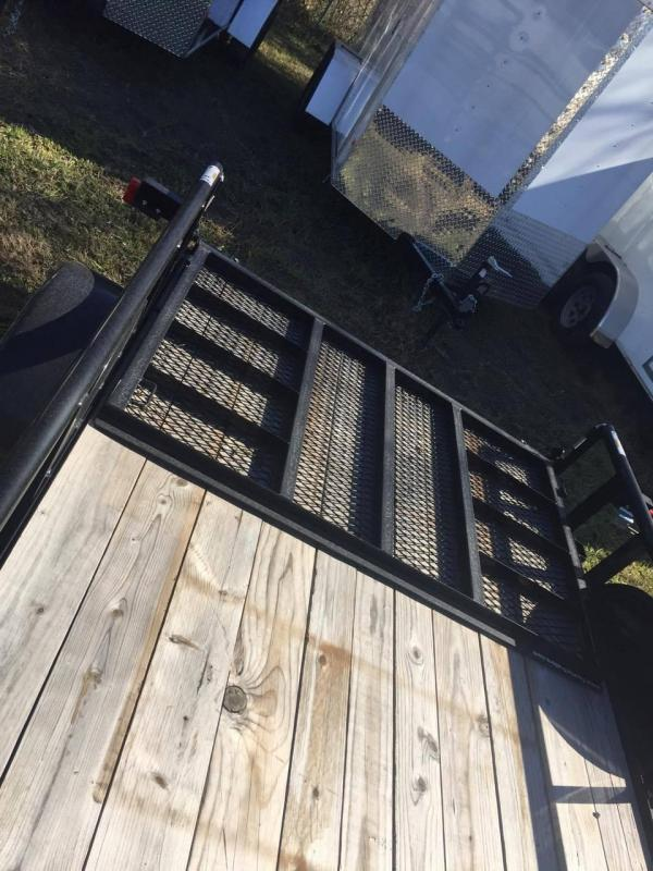 2017 Top Hat Trailers 6.5x10dsp Utility Trailer