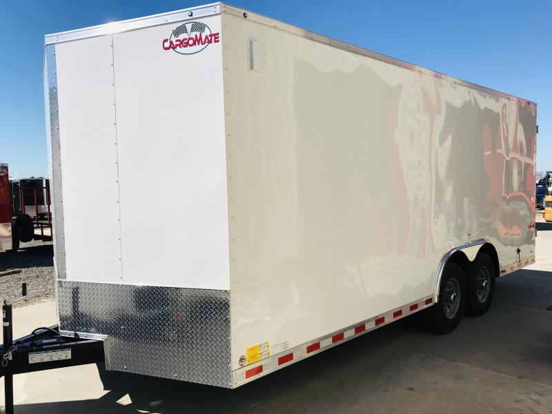 2018 Cargo Mate TXEHW820TA5 Enclosed Cargo Trailer