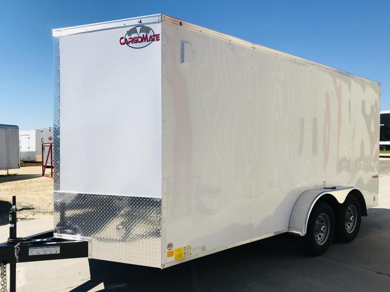 2018 Cargo Mate TXEHW16TA3 Enclosed Cargo Trailer