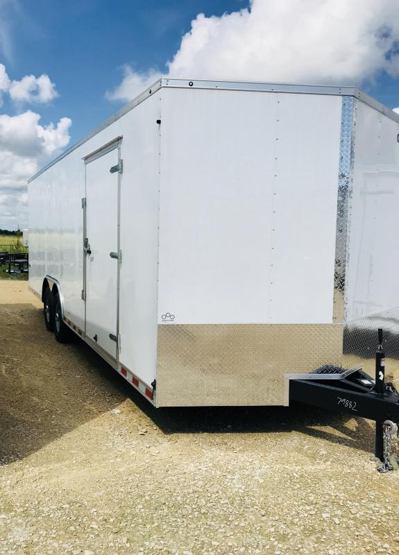 2018 Cargo Mate TXEHW8.524TA5 Enclosed Cargo Trailer