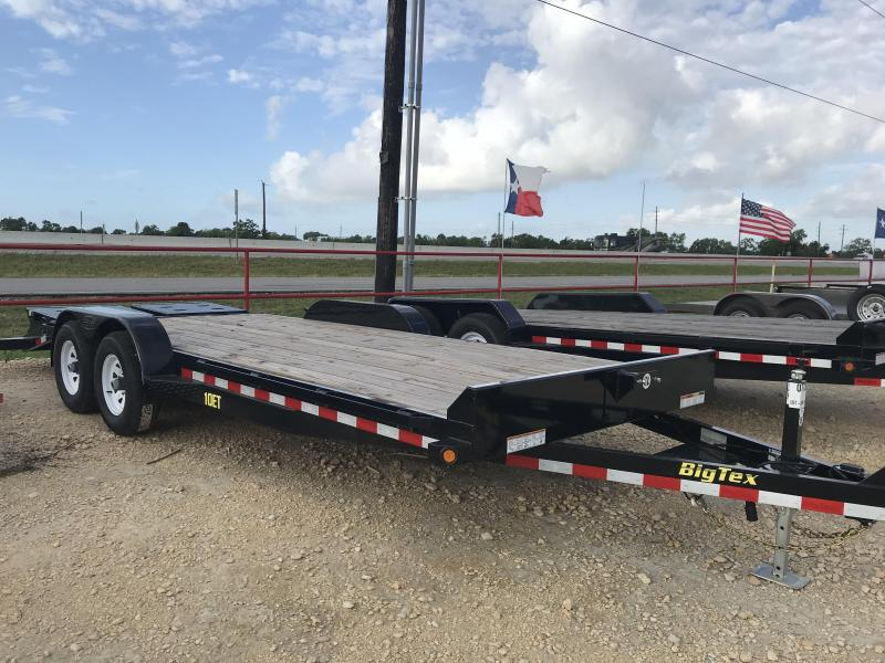 2018 Big Tex Trailers 10ET-20BK-MR Equipment Trailer