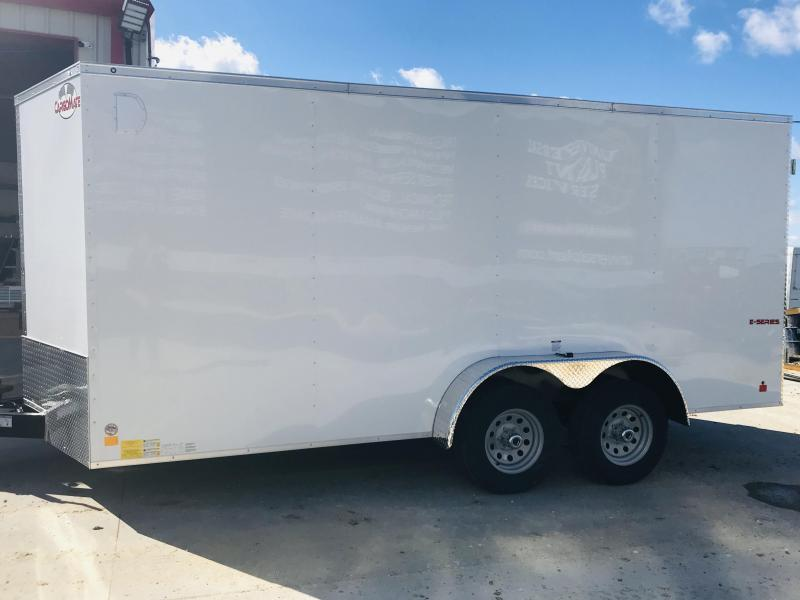 2019 Car Mate Trailers TXEHW716TA3 Enclosed Cargo Trailer