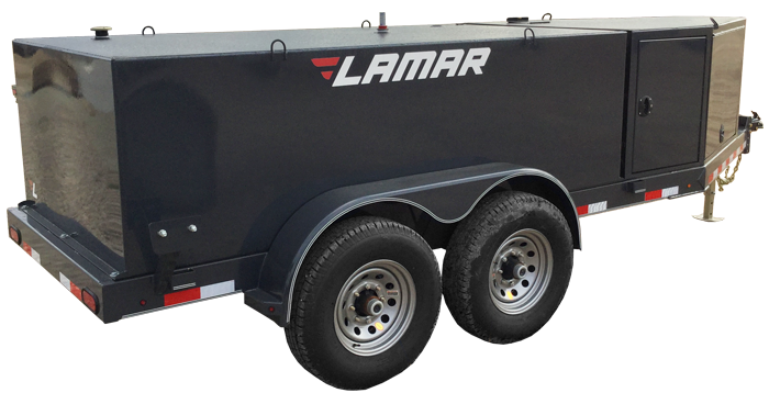 2018 Lamar Trailers Farm Boss 990 Fuel Trailer (K1)