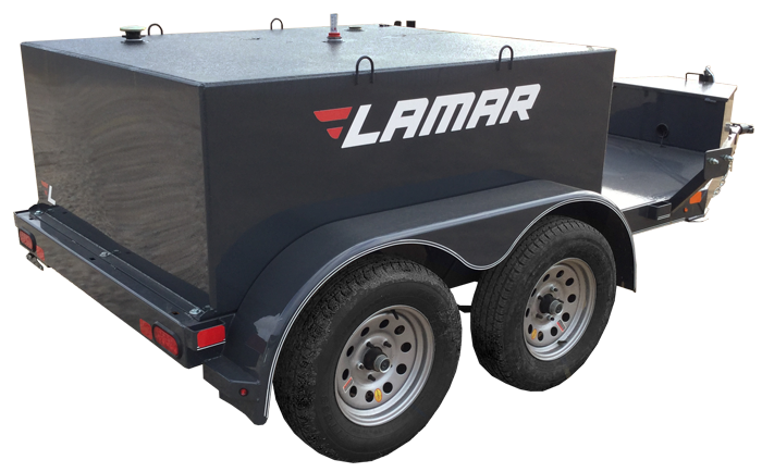 2018 Lamar Trailers Farm Boss 250 Fuel Trailer (K5)