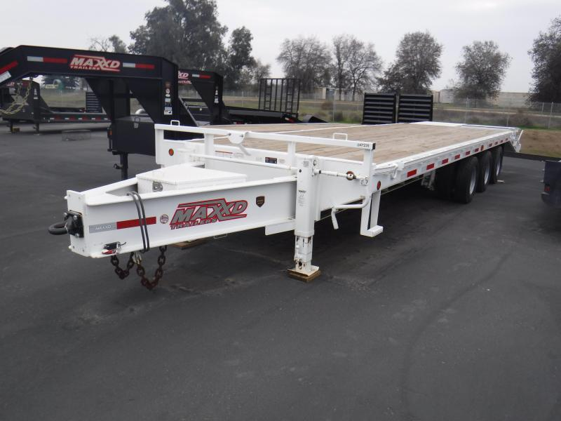 2017 MAXXD MAXXD 40K GN FLATBED Equipment Trailer