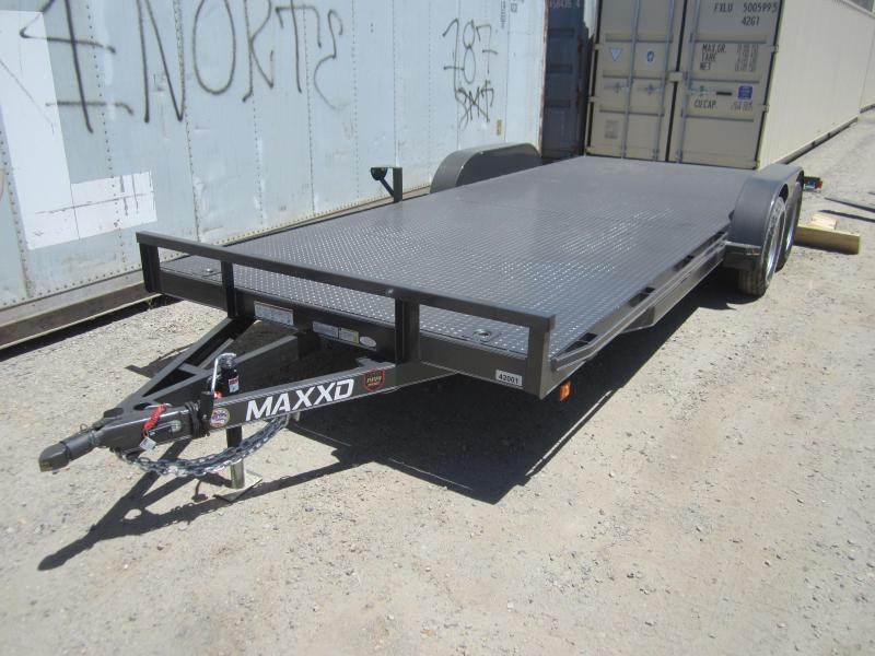 2016 Maxxd Trailers WHITE SERIES CHANNEL CAR HAULER Car / Racing Trailer