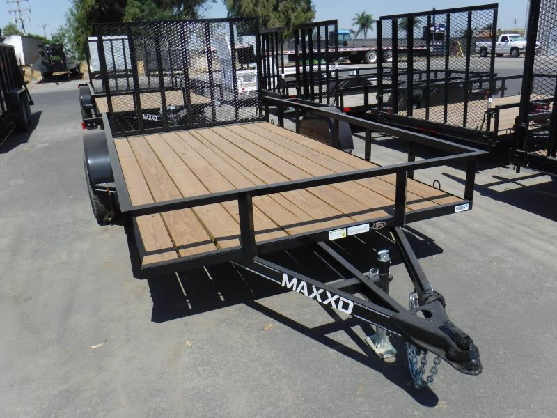 2019 MAXXD WS SINGLE AXLE UTILITY Utility Trailer