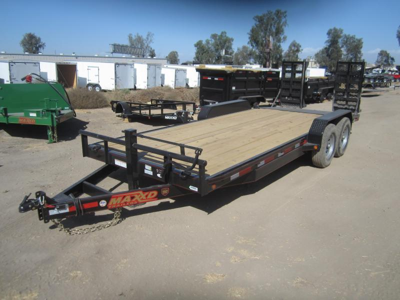 2017 Maxxd Trailers 20X83- MAXXD 6 CHANNEL CAR HAULER Equipment Trailer
