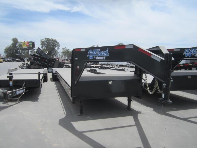2016 Diamond C Trailers 35MVCL44X82 GOOSENECK Flatbed Trailer