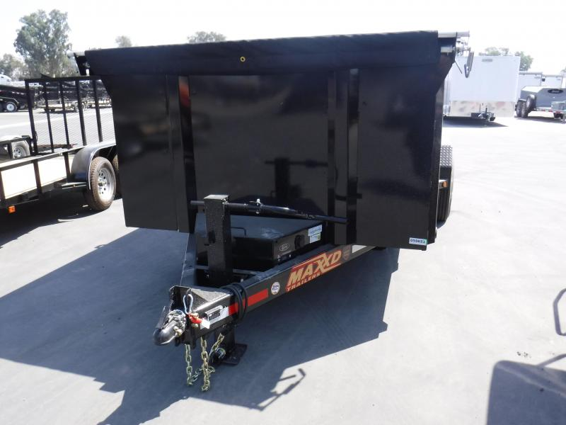 2019 Maxxd Trailers 83 ULTRA LOW-PROFILE DUMP Dump Trailer