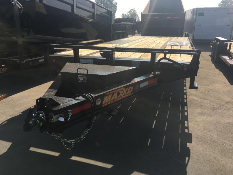 2019 Maxxd Trailers 14K TILT DECKOVER Equipment Trailer