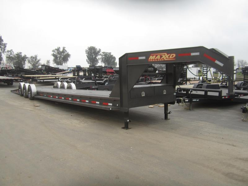 2017 Maxxd Trailers 44X79- MAXXD 21K DROP-N-LOAD Car / Racing Trailer