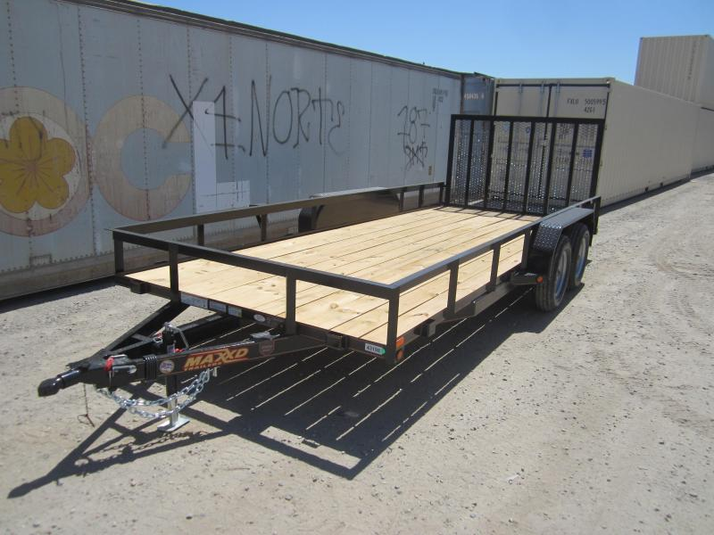 2016 Maxxd Trailers ANGLE TANDEM AXLE Utility Trailer