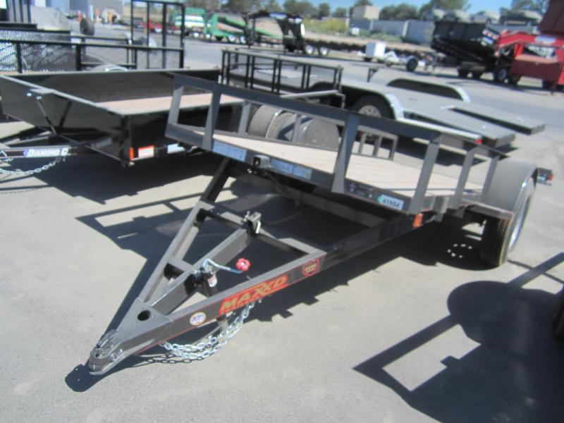 2016 Maxxd Trailers SINGLE AXLE QUICK TILT UTILITY Trailer
