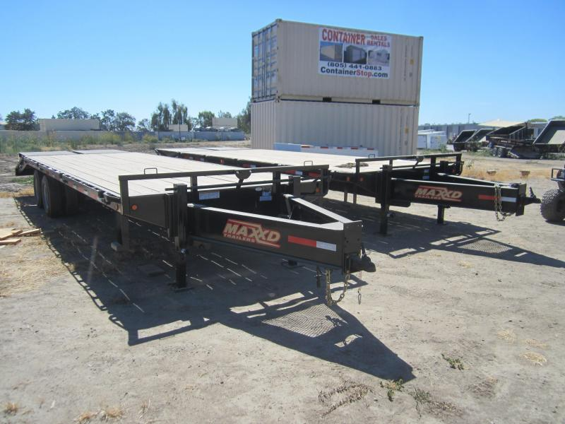 2016 Maxxd Trailers GN FLATBED WITH DUALS Flatbed Trailer