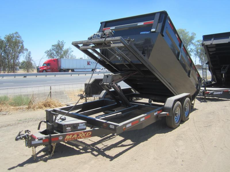 2016 Maxxd Trailers ROLL-OFF DUMP Dump Trailer