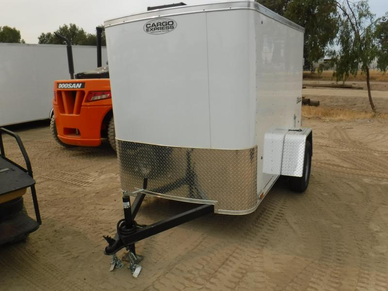 2019 Cargo Express EX5X8S12 Enclosed Cargo Trailer