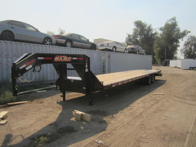 2017 Maxxd Trailers 36X102 MAXXD GN FLATBED WITH DUALS Flatbed Trailer