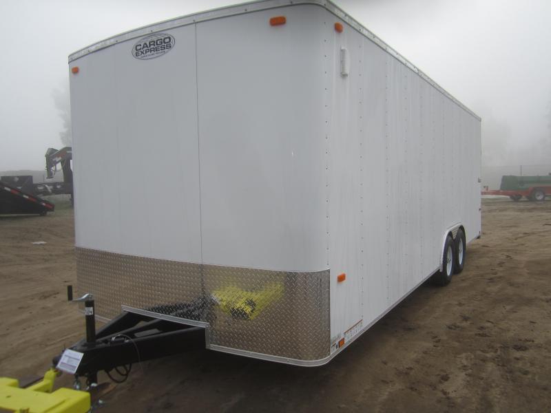 2017 Cargo Express EX85X24TE3 Enclosed Cargo Trailer