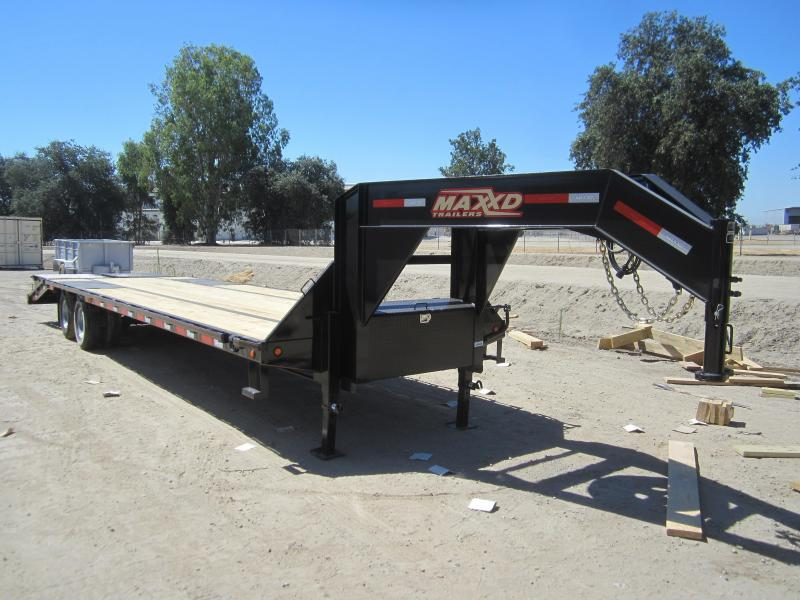 2016 Maxxd Trailers GN LO-PRO FLATBED WITH DUALS Flatbed Trailer