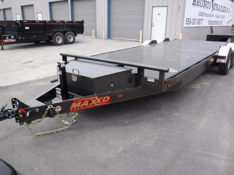 2019 MAXXD 10K DROP IN LOAD Car / Racing Trailer