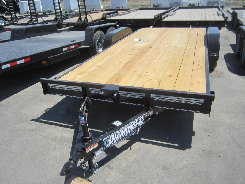 2016 Diamond C Trailers RC18X83 CAR MOVER Flatbed Trailer