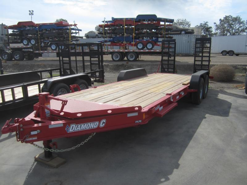 2016 Diamond C Trailers 19LPX 20 Equipment Trailer
