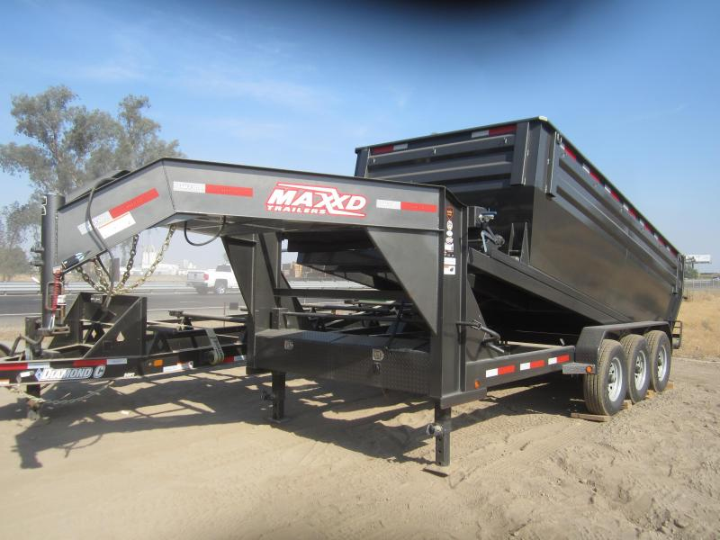 2017 Maxxd Trailers 16X83-MAXXD 21K ROLL-OFF DUMP Dump Trailer